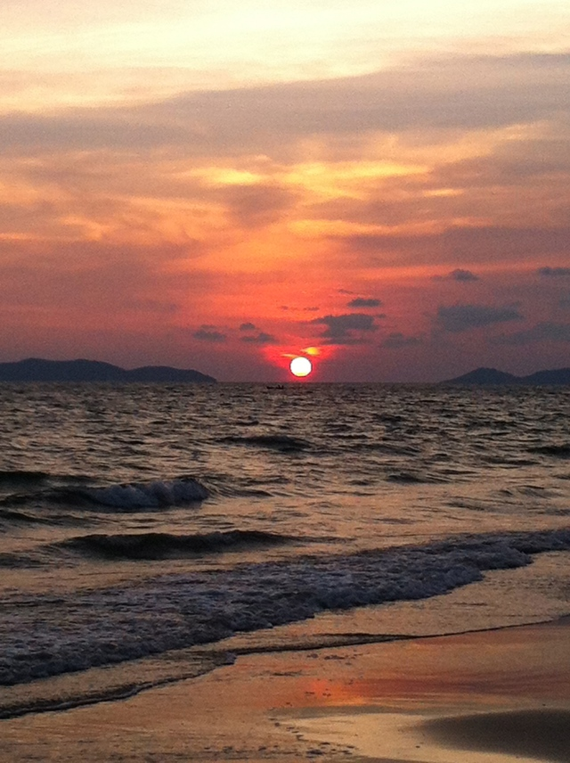 Sunset In Rayong- no filter needed